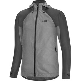 GORE WEAR C5 Gore-Tex Trail Capuchon Jas Dames, terra grey